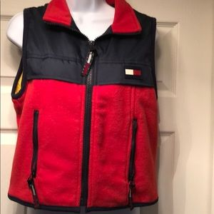 Tommy Hilfiger Blue & Red 2 Pockets  M/M Vest
